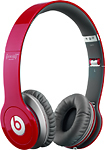 Beats By Dr Dre - Beats (Solo HD) RED Edition On-Ear Headphones - Red    