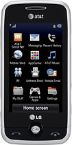 AT & T GoPhone - LG Prime No-Contract Mobile Phone - Black