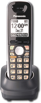 Panasonic - DECT 60 PLUS Expansion Handset for Panasonic KX-TG6500 Series Expandable Phone System - Black