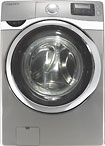 Samsung 4.3 Cu. Ft. 13-Cycle Steam Washer - Stainless Platinum