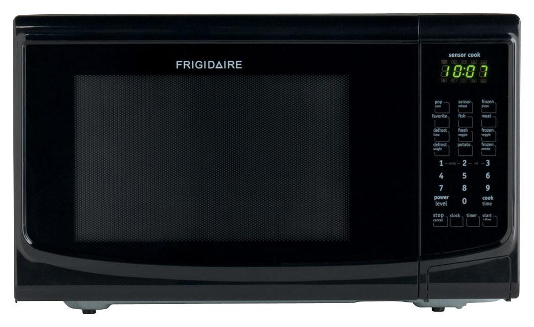 Frigidaire - 1.4 Cu. Ft. Mid-Size Microwave - Black