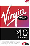 Virgin Mobile - $40 Top-Up Card