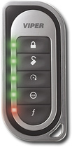 Viper Responder LE Remote for Select Vehicle Security Systems - Black/Silver