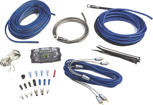 Kicker - Z-Series 2-Channel Amplifier Installation Kit