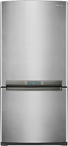 Samsung - 17.9 Cu. Ft. Frost-Free Bottom-Freezer Refrigerator - Platinum