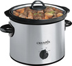Crock-Pot - 3 Qt Slow Cooker - Stainless-Steel