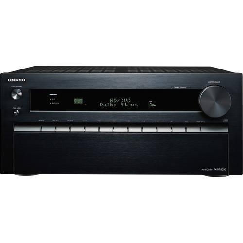 Onkyo - 1485W 11.2-Ch. 4K Ultra HD and 3D Pass-Through A/V Home Theater Receiver - Black