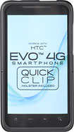 Platinum Series - Case for HTC EVO 4G Mobile Phones - Black