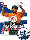 Tiger Woods PGA Tour 09 All-Play - PRE-OWNED - Nintendo Wii