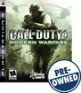 Call of Duty 4: Modern Warfare - PRE-OWNED - PlayStation 3