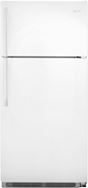 Frigidaire - 182 Cu Ft Top-Mount Refrigerator - White