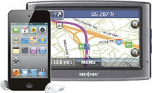 Apple iPod touch 8GB + Insignia NAV01 GPS $204.99