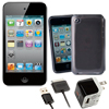 8GB iPod touch® with Micro Charger Kit and Smoke Case