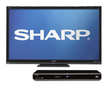 Sharp Aquos LC70LE632U 70 inch 120Hz 1080p LED LCD HDTV + Sharp 3D Smart Blu-ray Player with Built-in Wi-Fi