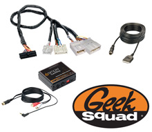 iSimple ISNM71 Radio Interface for Select Vehicles & Geek Squad® Installation