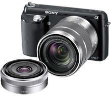 BestBuy - Sony Alpha NEX-F3 Black 16.1MP Camera Kit - $499.99