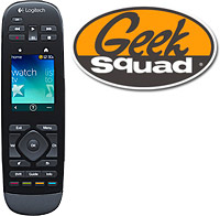 Logitech Harmony Touch Remote and Geek Squad® Remote Control Programming