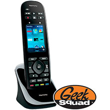 Logitech Harmony Ultimate Touch Remote and Geek Squad® Remote Control Programming