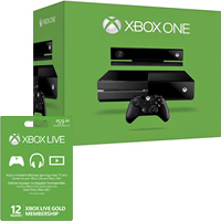 Microsoft Xbox One Console with 12 Months Xbox Live $530 at Best Buy