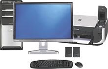 BestBuy - Gateway AMD quad-core Desktop with 22-in LCD - $749.97
