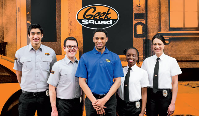 Geek Squad Agents, Geek Squad Installers and Blue Shirts