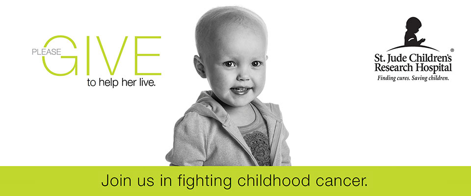 Please give to help her live. Watch our story. Join us in fighting childhood cancer.