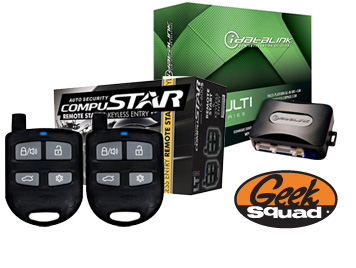 CompuStar Remote Start, Universal Bypass System & Geek Squad Installation