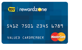 Reward Zone Mastercard