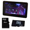 Agptek - Capacitive Touchscreen Android 4.0 8gb Tablet Webcam 8gb Micro Sd Card Wifi 3d Games G-sensor
