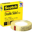 3m - 66512900 665 Double-sided Office Tape 1/2 X 25 Yards 1 In. core