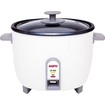Sanyo - Rice Cooker And Vegetable Steamer - White