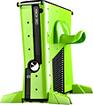 Calibur11 - Base Vault For Xbox 360 Nuclear Green Deal