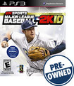 Sporting Goods Stores Major League Baseball 2k10 Pre-owned - Playstation 3