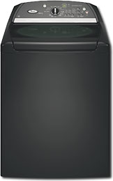 Whirlpool Cabrio 4 5 Cu Ft 11 Cycle Super Capacity Plus Washer Black WTW6600SB from bestbuy.com