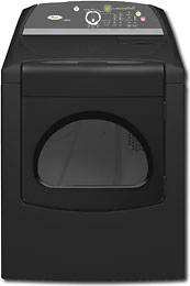 Whirlpool - Cabrio 7.0 Cu. Ft. 7-Cycle Super Capacity Plus Electric Dryer - Black - WED6400SB :  dryer