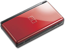 Nintendo - DS Lite - Crimson/Black - USGSRMKB :  video game video games ds lite nintendo