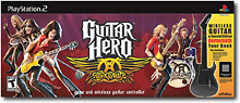 Guitar Hero Aerosmith Bundle for PS2
