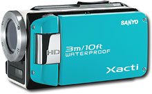 Sanyo - Xacti WH1 Water-Resistant High-Definition Digital Camcorder w/2.5