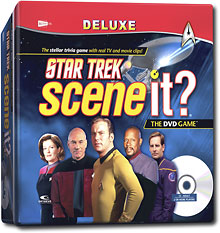 Star Trek Scene It Deluxe Game