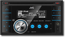 JVC 50W x 4 iPod/Satellite/HD Radio-Ready CD Receiver