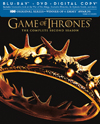 Game of Thrones: The Complete Second Season [7 Discs] [Includes Digital Copy] [Blu-ray/DVD] - Blu-ray Disc