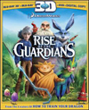 Rise Of The Guardians (2 Disc) - Blu-ray 3D