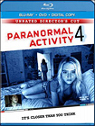 Paranormal Activity 4 (Unrated) - Widescreen - Blu-ray Disc