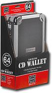 Vaultz 64-Disc Hard-Shell CD Case - VZ01149
